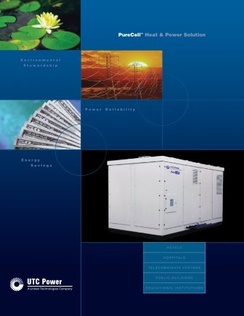 PureCell™ Heat & Power Solution - Fuel Cell Markets