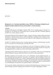 Ordination af antibiotika i svinebesætninger 2009 - Fødevarestyrelsen