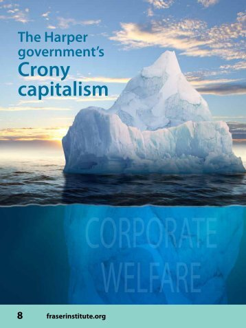 The Harper government's crony capitalism - Fraser Institute