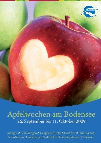 Apfelwochen am Bodensee - Toubiz