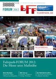 FORUM 2012 - fuhrpark.de - fuhrpark.de