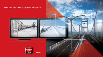 AMD FireProTM ProFessionAl GrAPhics - Schneider Digital