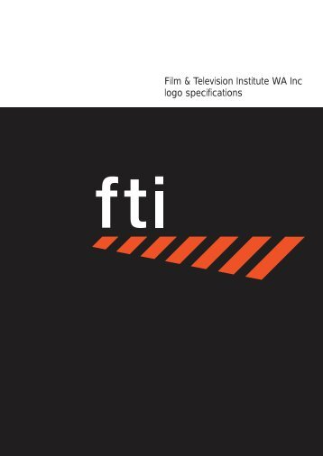 Download FTI logo Guidelines - Film & Television Institute