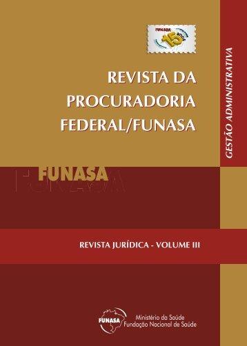 Revista da Procuradoria Federal - FUNASA.pdf