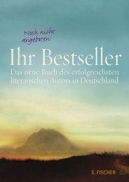 Noch nicht angeboten: - S. Fischer Verlag