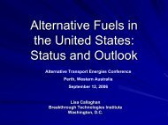 Status and Outlook - Fuel Cells 2000