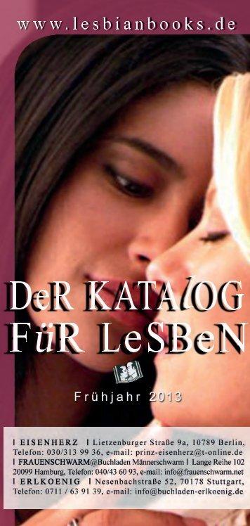 Lesbenkatalog Frühjahr 2013 einzeln mini - Suchen Sie eBooks?