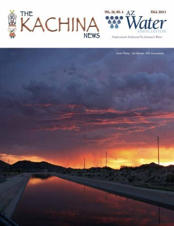 Cover Photo: Kal Raman, KUV Consultants - AZ Water Association