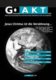 Jesus Christus ist die Versöhnung... - gakt.eu