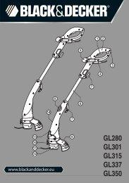 GL280 GL301 GL315 GL337 GL350 - Service - Black & Decker
