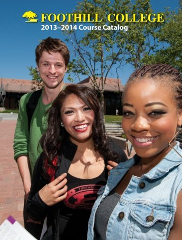COURSE CATALOG - Foothill College