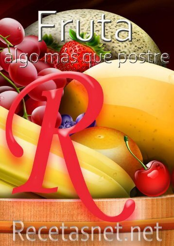 Fruta algo mas que postre