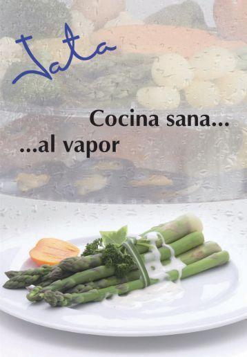 JATA Recetas para cocinar al vapor