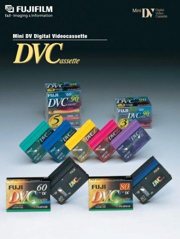 Mini DV Digital Videocassette DVCassette - Fujifilm