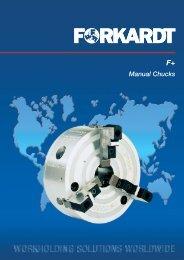 F+ manual chucks - Forkardt