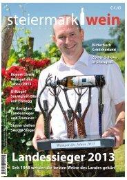 Steiermarkwein Ausgabe 17 - Sommer 2013