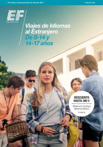 Viajes de Idiomas al Extranjero De 8-14 y 14-17 anos
