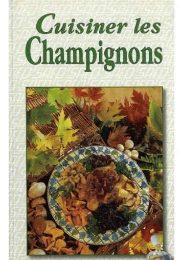 Cuisiner les Champignons