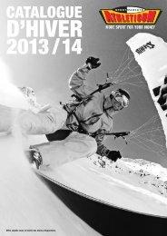 Catalogue D'Hiver 2013/14