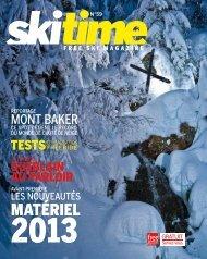 SKITIME Free Ski Magazine