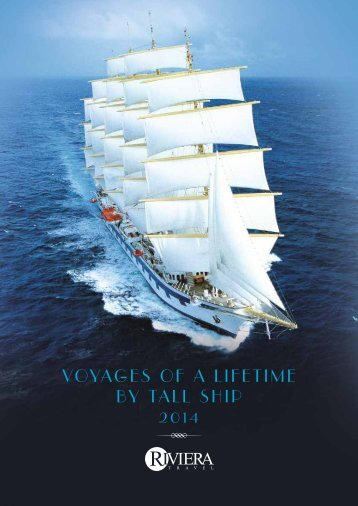 Voyages of a lifetime by Tall Ship 2014