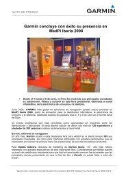 Garmin concluye con éxito su presencia en MedPi