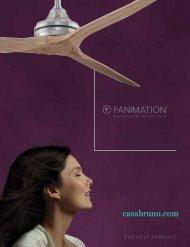 Casa Bruno Fanimation Deckenventilatoren 220 Volt - 2016
