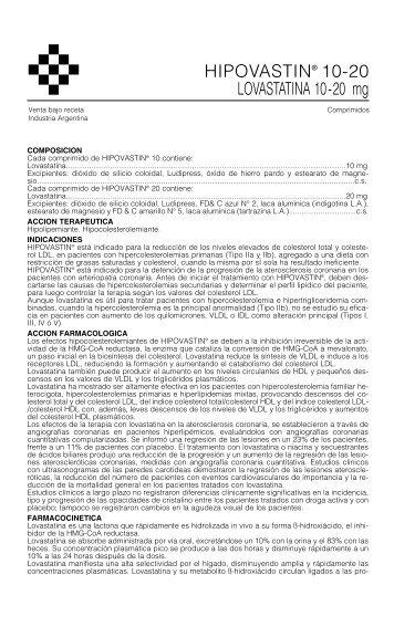 HIPOVASTIN prosp. 12/05 - Gador SA