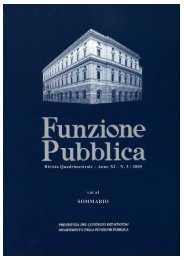 Rivista n. 3 in pdf - Dipartimento Funzione Pubblica
