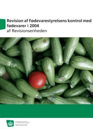 Download publikationen som PDF - Fødevarestyrelsen