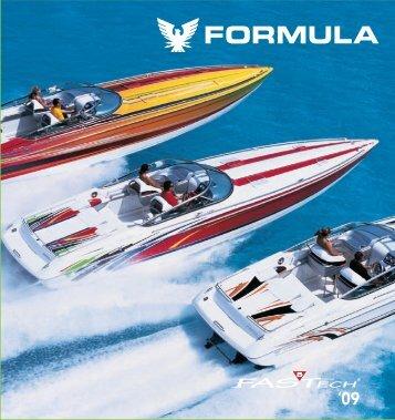 2009 Formula FAS TECH Brochure - Formula Boats