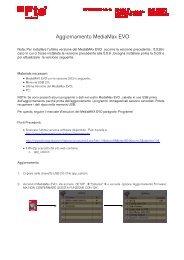 Aggiornamento MediaMax EVO - FTE Maximal