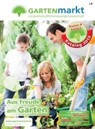 Download Katalog (pdf 13mb) - Gartenmarkt