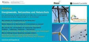 Einladung Stuttgart überarb.indd - Forum Netzintegration ...