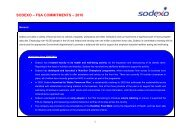 Sodexo - Food Standards Agency