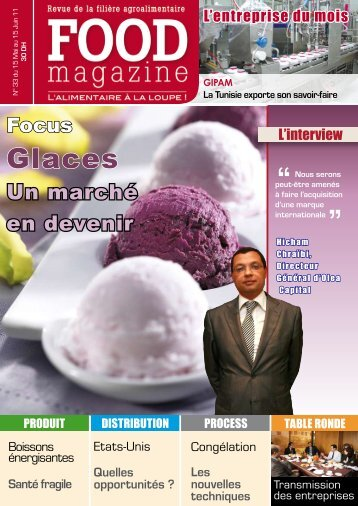 Glaces - FOOD MAGAZINE