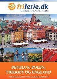 benelux, polen, tjekkiet og england - fri ferie