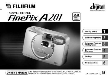 FinePix A201 Owner's Manual - Fujifilm USA