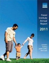 Fraser Institute Annual Report 2011
