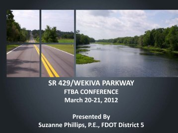 SR 429/WEKIVA PARKWAY - Florida Transportation Builders