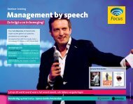 Management by speech - Focus Conferences