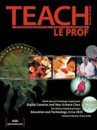 LE PROF - TEACH Magazine