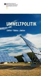 Umweltpolitik: Zahlen - Daten - Fakten - Forum DL21