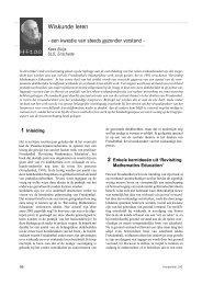 Wiskunde leren - Freudenthal Instituut