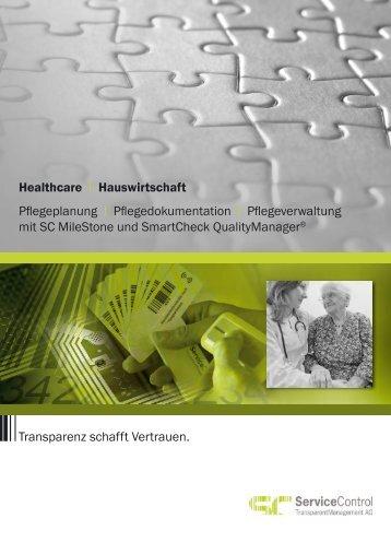 Flyer Gesundheitswesen - firma-web