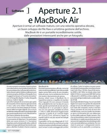 Aperture 2.1 e MacBook Air - Fotografia.it