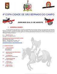 4ª Copa Cidade São Bernardo do Campo - FPH