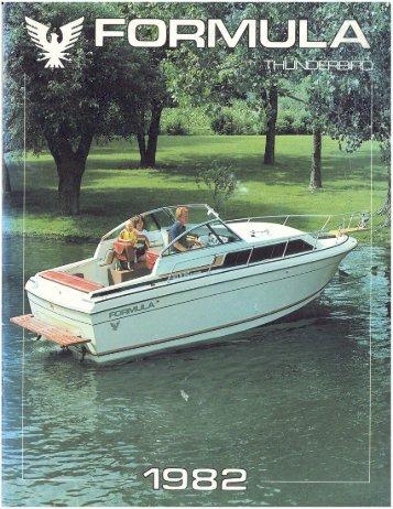 1982 Formula Brochure.pdf - Formula Boats