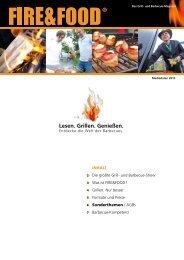 Lesen. Grillen. Genießen. - Fire & Food
