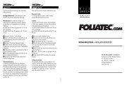 K I L L SWITCH - Foliatec